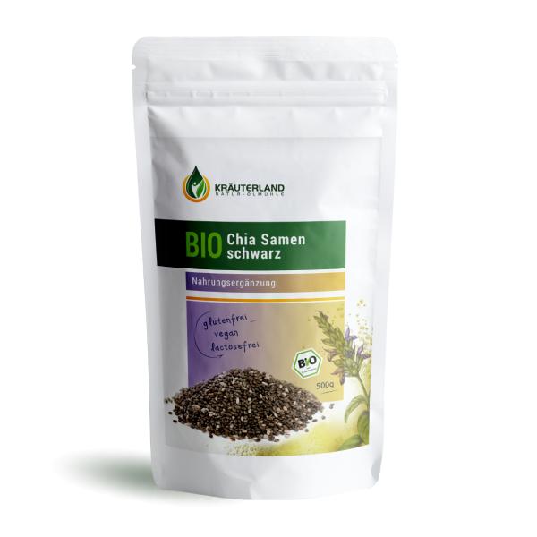 Chia Samen schwarz BIO · 500g