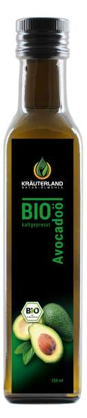 Kräuterland BIO Avocadoöl 250ml