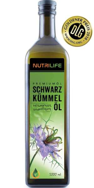 Schwarzkümmelöl ungefiltert Nutrilife