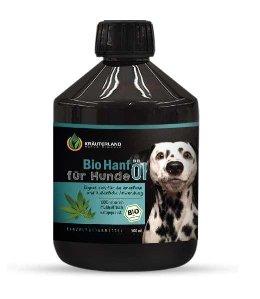Bio Hanföl für Hunde 500ml