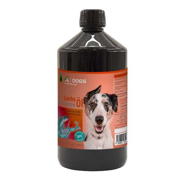 Lachsöl für Hunde 1000ml