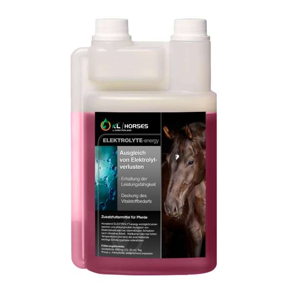 Elektrolyt Energy für Pferde