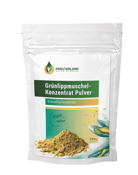 Grünlippmuschel Pulver für Tiere 250g